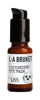 L: a bruket No. 168 Cotton Seed Eye Balm (k4G)