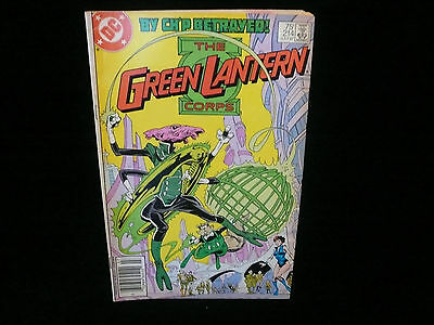 The Green Lantern Corps DC Comic July 1987 Issue #214