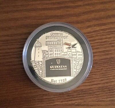 Irish GUINNESS FLAGSHIP STORE, Dublin Ireland Stout Storehouse Token