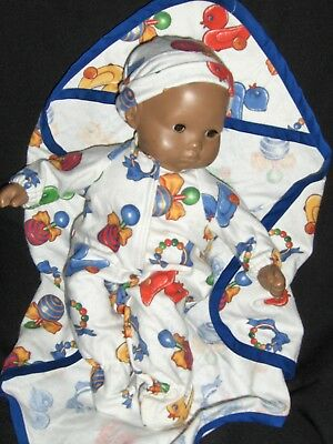 SALE Baby Toy Sleeper Hat Doll Clothes Handmade For American Girl Bitty Baby Boy