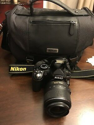Nikon D3100 14.2MP Digital SLR Camera - Black (Kit w/ AF-S DX G ED II 18-55mm)
