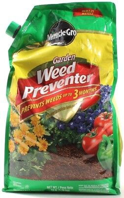 Miracle Gro Garden Weed Preventer Stops Weeds for Up to 3 Months 15lb Bag