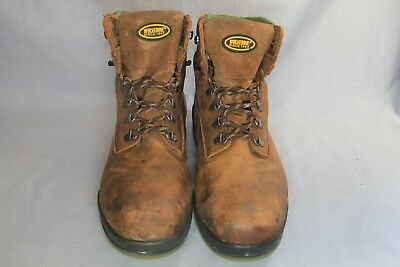 1b51d383f1f MEN'S WOLVERINE 6'' Steel Toe WP/ Insulated W03294 Work Boots Size 12M (253)