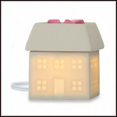 PartyLite ELECTRIC SCENTGLOW AROMA MELTS FRAGRANCE WAX WARMER WELCOME HOME NIB