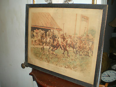 1892 Polo Match For The Westchester Cups-Ws Allen-Period Heliotype- Newport R.i
