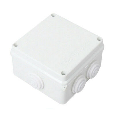 White Abs Ip65 Waterproof Enclosure Square Junction Box 100X100X70mm A8A3 X3E7