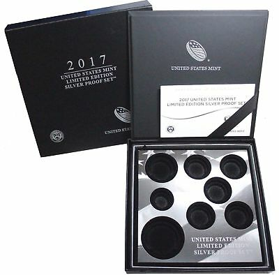 2017 S United States Mint Limited Edition Silver Proof Set ~ NO COINS