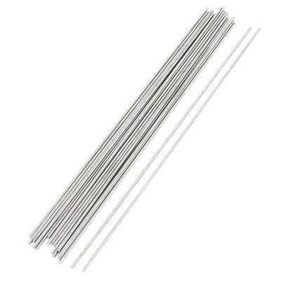 20pcs 300mmx2.5mm Stainless Steel Round Rod Bar for RC Helicopter DIY A2E1 A8C0