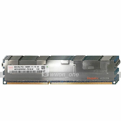 Hynix 32GB 4x8GB 2Rx4 PC3-12800R DDR3-1600Mhz 1.5V ECC Registered Server Memory