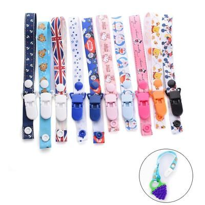 Baby Straps Anti-Lost Reminders Holders Pacifier Chain Stroller White Belts 1PC