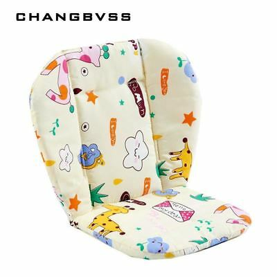 Baby Stroller Printed Seat Pad Push Chair Polyester Mattress Cushion Accessories