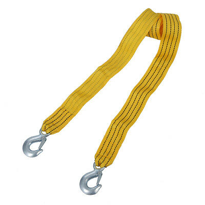 Cable Car Tow Rope with Hooks 3m 3000KG Buckle G8R6 E8G2