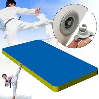 Large Inflatable Air Outdoor Sport Tumbling Gymnastics Exercise Mat Training Pad