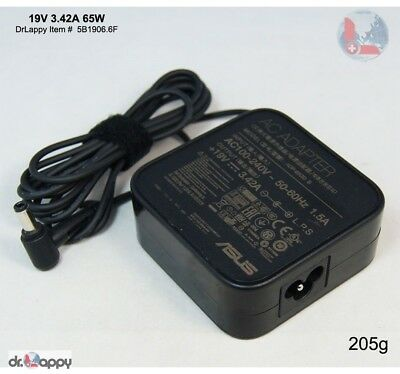 Genuine Original ASUS 65W 19V 3.42A Power Adapter Charger Compatible ADP-65DW C