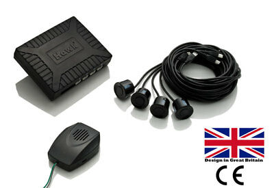 Reverse  Rear Parking Sensor Kit 4 Sensors with OEM Speaker British Brand UK