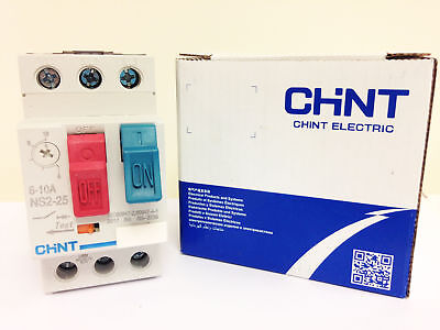 Chint 6.30A-10.00A MANUAL MOTOR STARTER