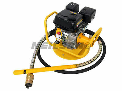 """New 2"""" Petrol concrete poker with hose & a 2"""" Waterpump attchment CT1700-1-p"""