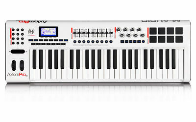 Midi Keyboard - M-Audio Axiom Pro 49 - Controller TruTouch Semi-Weighted Action