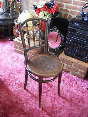 Lovely Vintage Antique Decorative Bedroom Old Wooden Chair  Beautiful Design