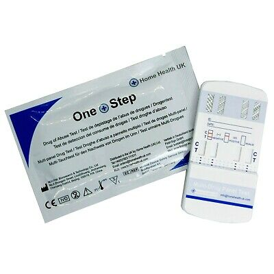 Drug Testing Kit 7 Panel Test For Home Or Workplace Screening - One Step®
