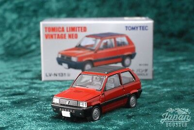 [TOMICA LIMITED VINTAGE NEO LV-N131b 1/64] FIAT PANDA 1100 CLX (Red)