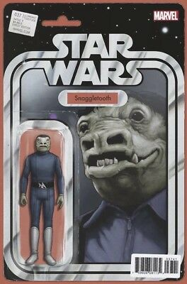 NEW! Marvel Star Wars #37 JTC BLUE SNAGGLETOOTH Action Figure Variant