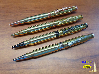 Bullet Pen Made from real once fired shells