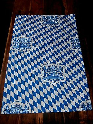 Vtg cotton Linen Austria Halltex tea towel coat of arms great graphics