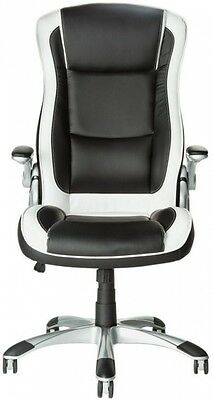 Dexter Height Adjustable Office Chair - Black and White