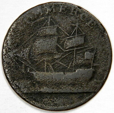1781 Canada / North American Token Commerce - Priced Right!