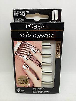 L'OREAL NAILS A PORTER by COLOR RICHE - 003 TUXEDO CHIC