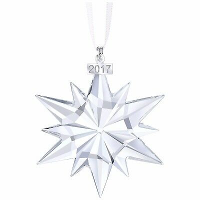 Swarovski Crystal Star Christmas Ornament Annual Edition 2017 Holidays Xmas Gift