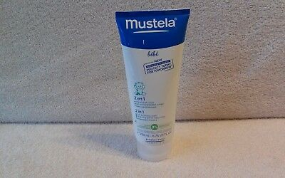 Mustela  2 In 1 Hair And Body Wash Gel For Baby Or Child  6.76 Oz.   Sealed