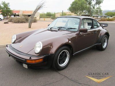 1976 Porsche 930 Turbo Coupe 1976 Porsche 930 Turbo Coupe - Only 35K Original Miles - All #'s Matching -Rare!