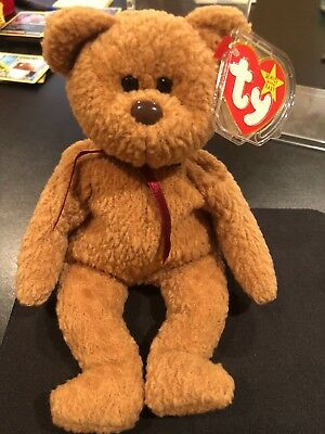 Ty Beanie Baby, Curly Rare With Defects