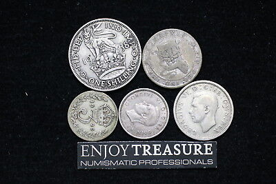 Uk Gb Silver Coins Lot A72 Zj9