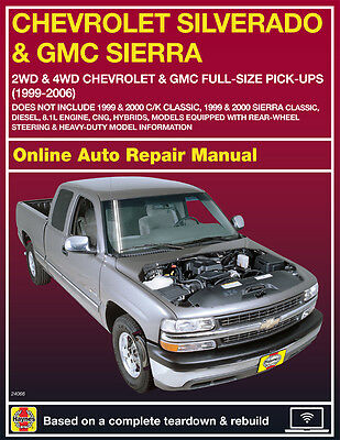 haynes online repair manual for 2007 2013 chevy gmc trucks suvs rh picclick com 2007 chevy silverado 1500 service manual 2010 chevy silverado 1500 owners manual