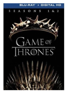 Game Of Thrones: Seasons 1 and 2 (Blu-ray Disc, 2017) Brand New & SEALED