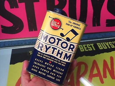 Vintage Motor Rythm Whiz Can Additive New Old Stock Can 16 Oz Full Buy It Now