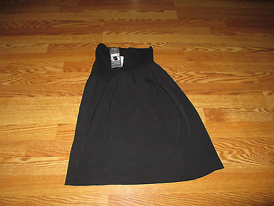New Womens Maternity Skirt Black Stretch Size Medium M Career Motherhood Oh Baby