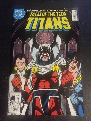 Tales Of Teen Titans#89 Incredible Condition 9.4(1988) Brother Blood!!