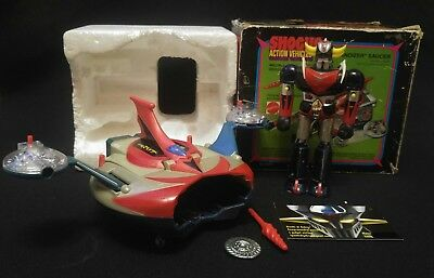 Goldrake Goldorak Grandizer Saucer Popy GA-37 Mattel Shogun Action Vehicles 1978