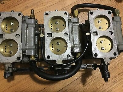 1988 Mariner 150Hp Carburetor 7563A10 7563A11 7563A12 135Hp-150Hp