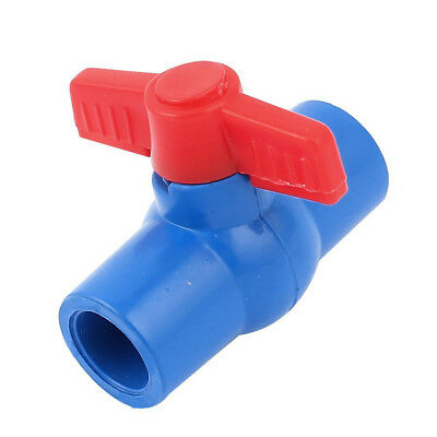 20mm to 20mm Handle Full Port Pipe Connector Adapter PVC Ball Valve D1V9 C5A1
