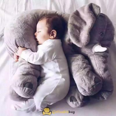 EXTRA LARGE Elephant Pillow Plush Doll Toy Baby Sleep Pillow Elephant Plush NJ