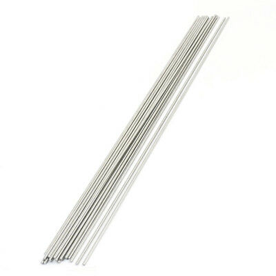 20PCS 300mm x 2mm Stainless Steel Round Rod Axle Bars for RC Toys E3C1 S6P2