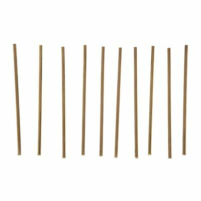 10Pcs Brass 100mm x 3mm Round Rod Stock for RC Airplane Model F9G6 O6Q1