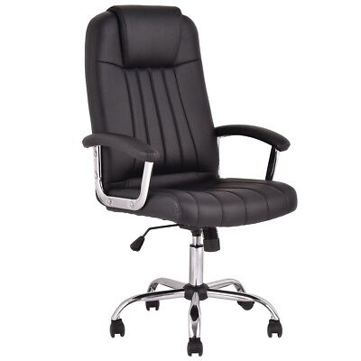 Executive PU Leather High Back Office PC Computer Desk Task Racing Gaming Chair