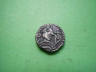 Early Anglo-Saxon Period Silver Sceatta 600-775