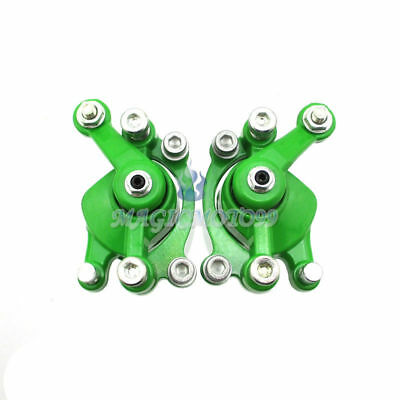Green Left Right Disc Brake Calipers For 43 47 cc Mini Pocket Dirt Bike Scooter